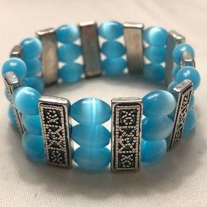 Jewelry - B L U E  💎 BEADED 💎 B R A C E L E T